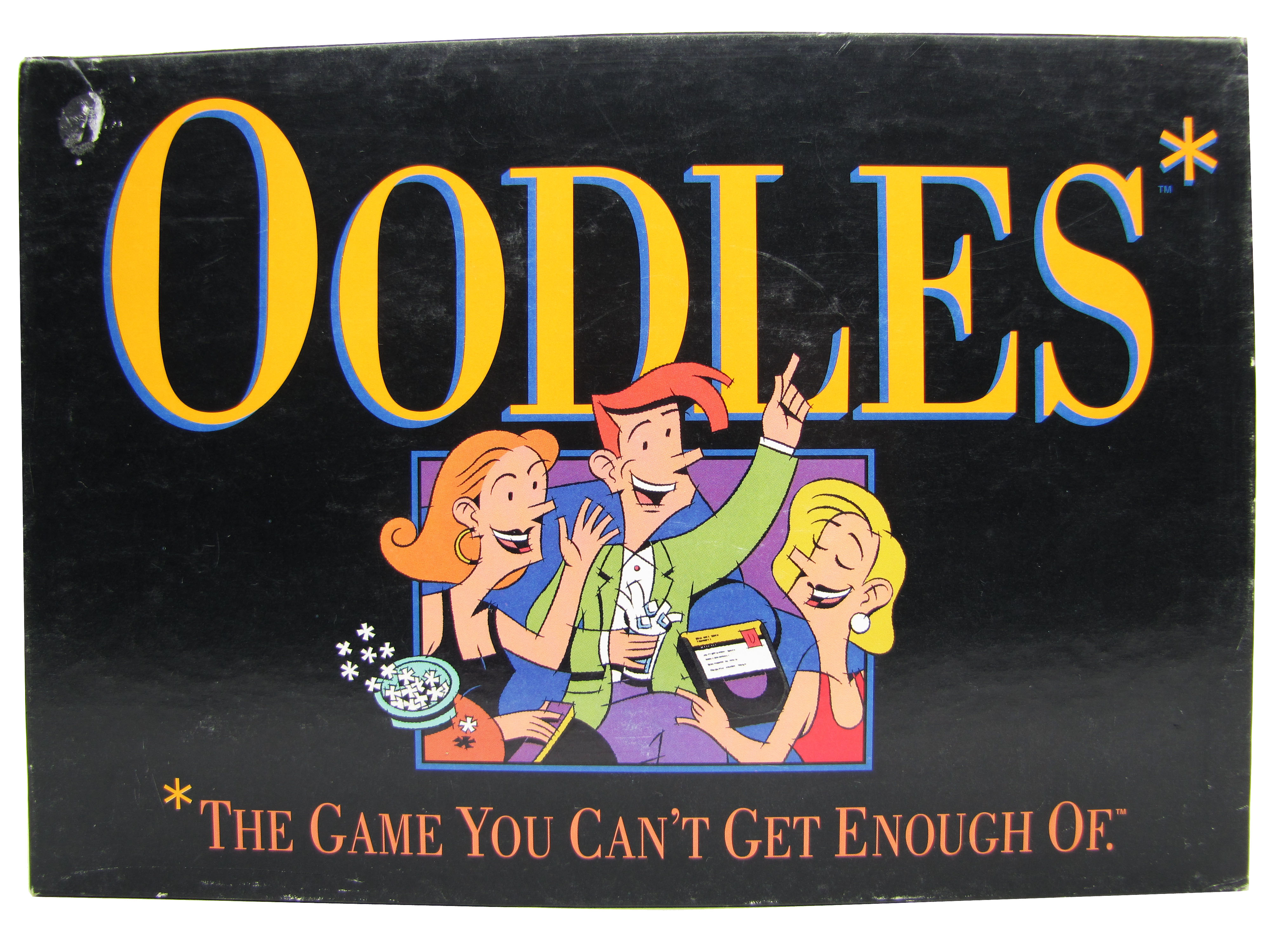 1992 Milton Bradley Oodles Board Game Complete